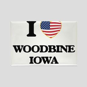 I love Woodbine Iowa Magnets