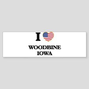 I love Woodbine Iowa Bumper Sticker