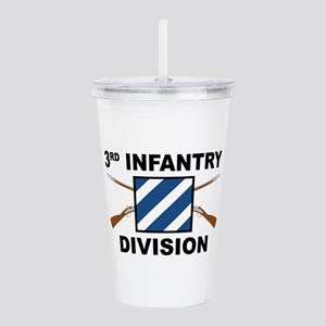 3rd Infantry Division Acrylic Double-Wall Tumbler