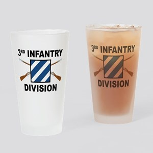 3rd Infantry Division - Crossed Rifles Drinking Gl