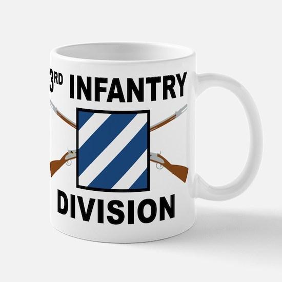 3rd Infantry Division - Crossed Rifles Mugs
