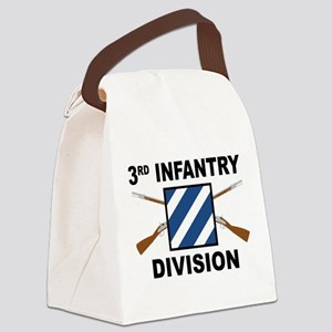3rd Infantry Division - Crossed Rifles Canvas Lunc