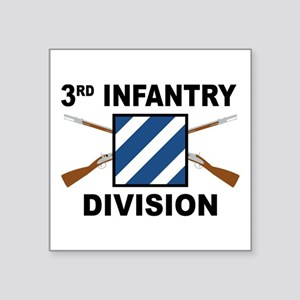 3rd Infantry Division - Crossed Rifles Sticker