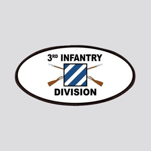 3rd Infantry Division - Crossed Rifles Patch