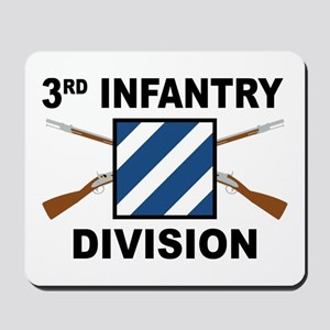 3rd Infantry Division - Crossed Rifles Mousepad