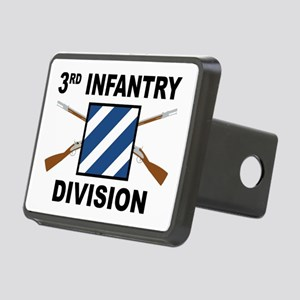 3rd Infantry Division - Rectangular Hitch Cover
