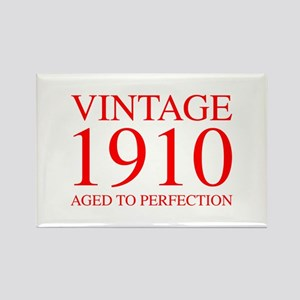 VINTAGE 1910 aged to perfection-red 300 Magnets