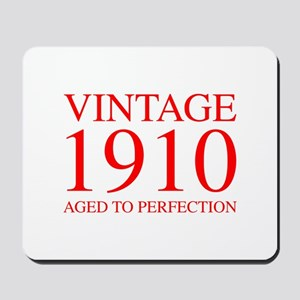 VINTAGE 1910 aged to perfection-red 300 Mousepad