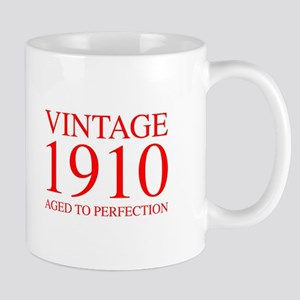 VINTAGE 1910 aged to perfection-red 300 Mugs