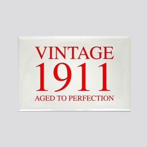 VINTAGE 1911 aged to perfection-red 300 Magnets