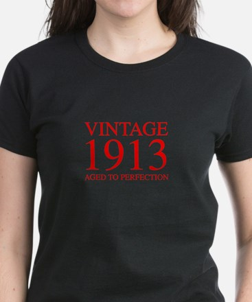 VINTAGE 1913 aged to perfection-red 300 T-Shirt