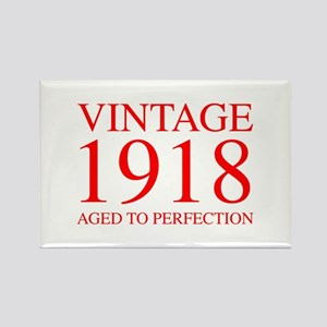 VINTAGE 1918 aged to perfection-red 300 Magnets