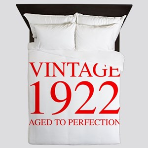 VINTAGE 1922 aged to perfection-red 300 Queen Duve