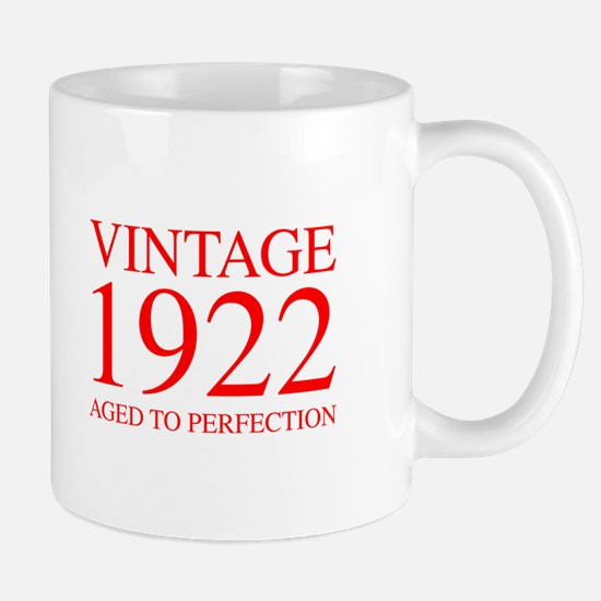 VINTAGE 1922 aged to perfection-red 300 Mugs