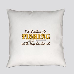 I'd Rather Be - Husband Everyday Pillow