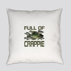 Full of Crappie Everyday Pillow