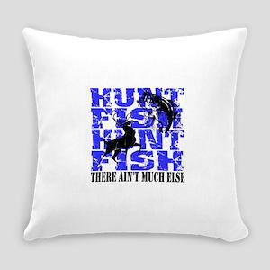 hunt fish Everyday Pillow