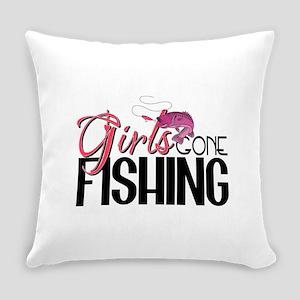 girls gone fishing2 Everyday Pillow