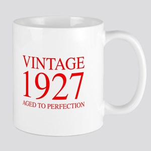 VINTAGE 1927 aged to perfection-red 300 Mugs