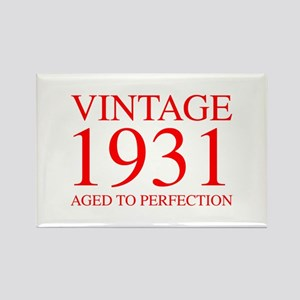 VINTAGE 1931 aged to perfection-red 300 Magnets