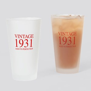 VINTAGE 1931 aged to perfection-red 300 Drinking G
