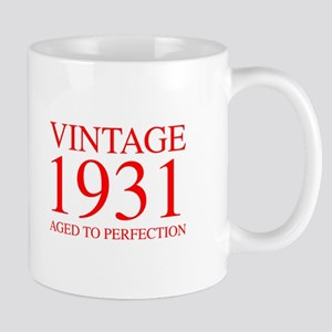 VINTAGE 1931 aged to perfection-red 300 Mugs