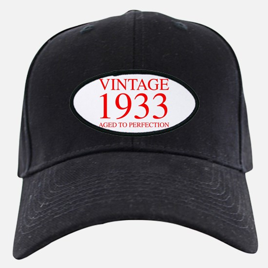 VINTAGE 1933 aged to perfection-red 300 Baseball H