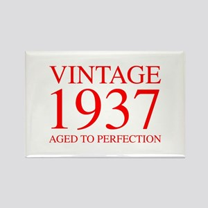 VINTAGE 1937 aged to perfection-red 300 Magnets