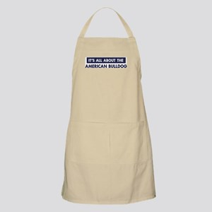 About AMERICAN BULLDOG BBQ Apron