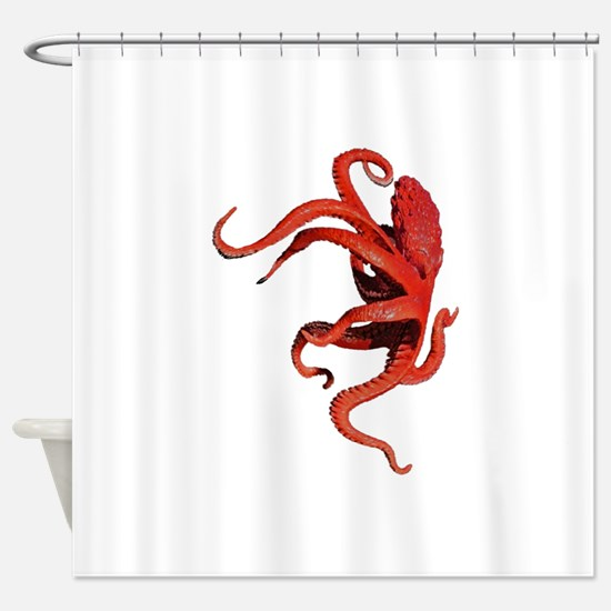 TENTACLE NOW Shower Curtain