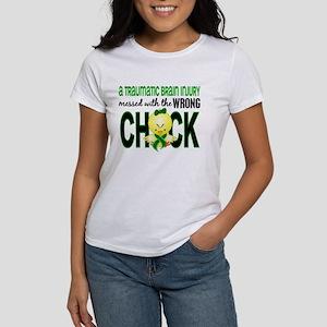 TBI MessedWithWrongChick1 Women's T-Shirt