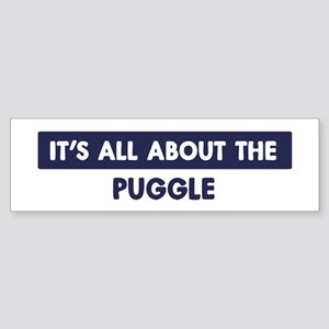 About PUGGLE Bumper Sticker