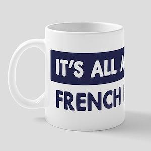 About FRENCH BULLDOG Mug