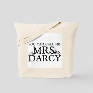 """Call Me MRS. Darcy"" Tote Bag"