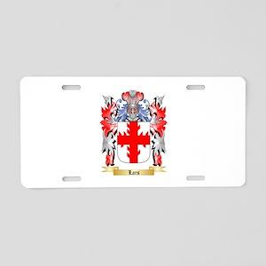 Lars Aluminum License Plate
