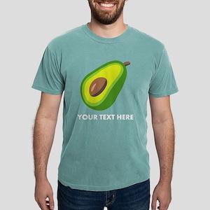 Avocado Emoji Personaliz Mens Comfort Colors Shirt