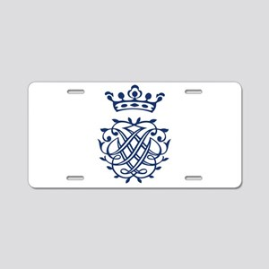 Bach's Symbol Aluminum License Plate