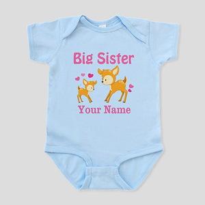 Big Sister Deer Personalized Body Suit