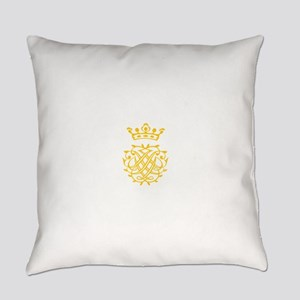 JS Bach Symbol Everyday Pillow
