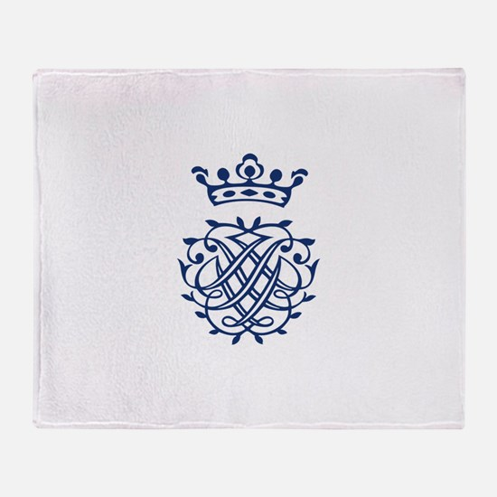 Bach's Symbol Throw Blanket