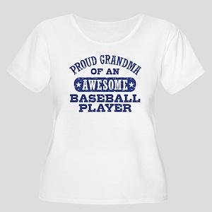Proud Basebal Women's Plus Size Scoop Neck T-Shirt