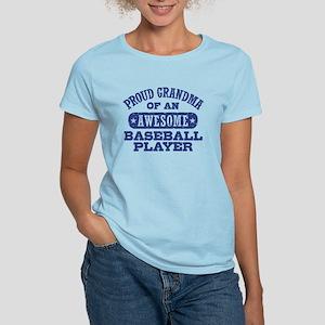 Proud Baseball Grandma Women's Light T-Shirt