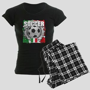 Soccer Italy Women's Dark Pajamas