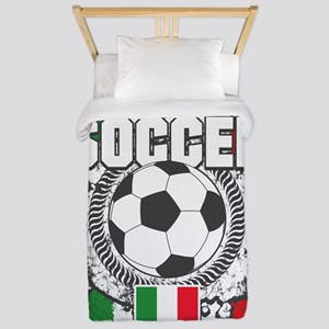 Soccer Italy Twin Duvet