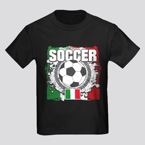 Soccer Italy Kids Dark T-Shirt