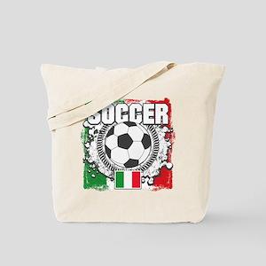 Soccer Italy Tote Bag