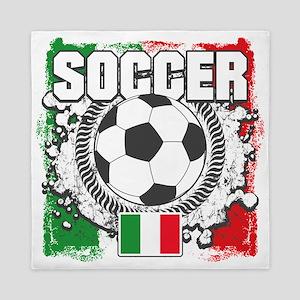 Soccer Italy Queen Duvet