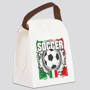 Soccer Italy Canvas Lunch Bag