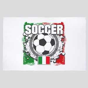 Soccer Italy 4' x 6' Rug