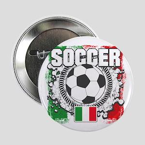 """Soccer Italy 2.25"""" Button"""